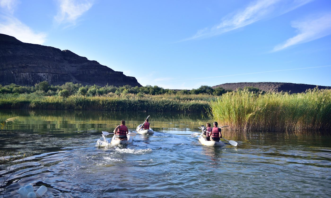 Vioolsdrift  Umkhulu Lodge  Orange River Tours