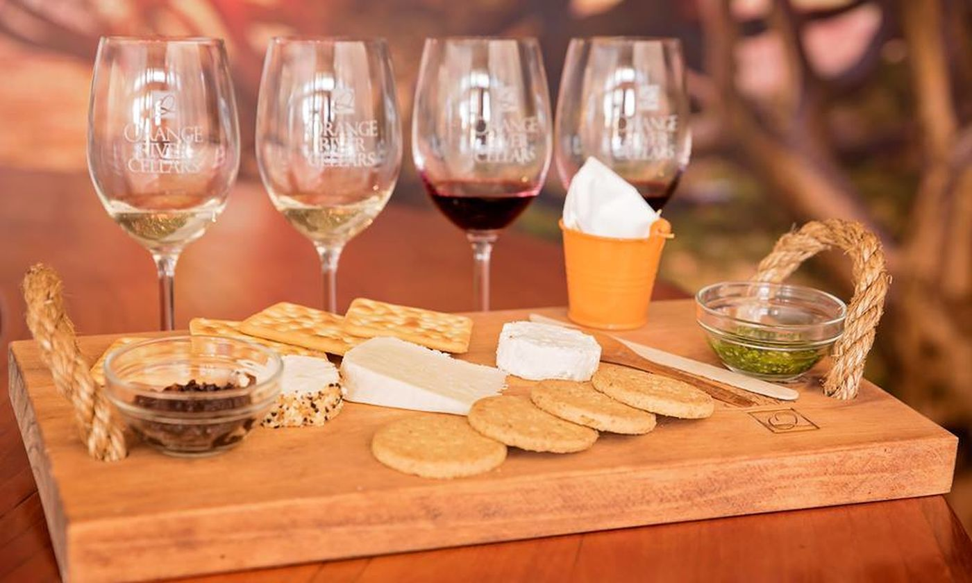 Orange River Cellars wine tasting