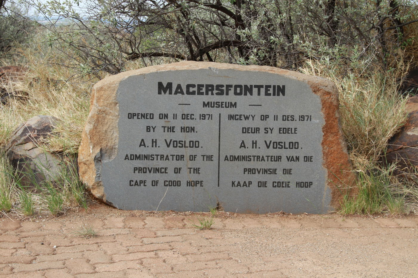 Magersfontein museum