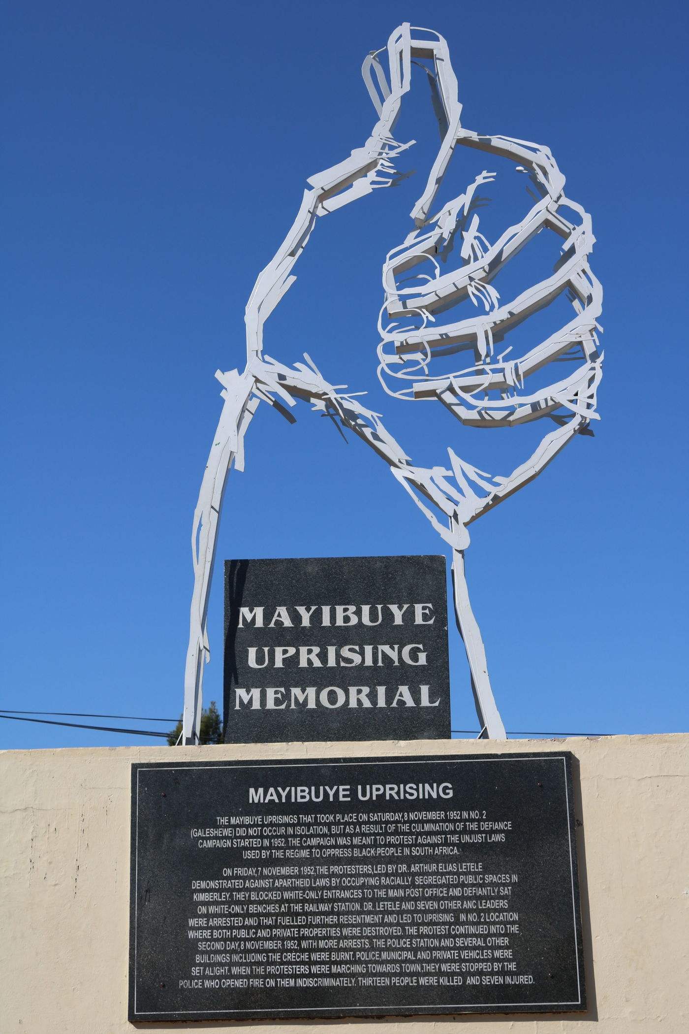 Mayibuye uprising memorial