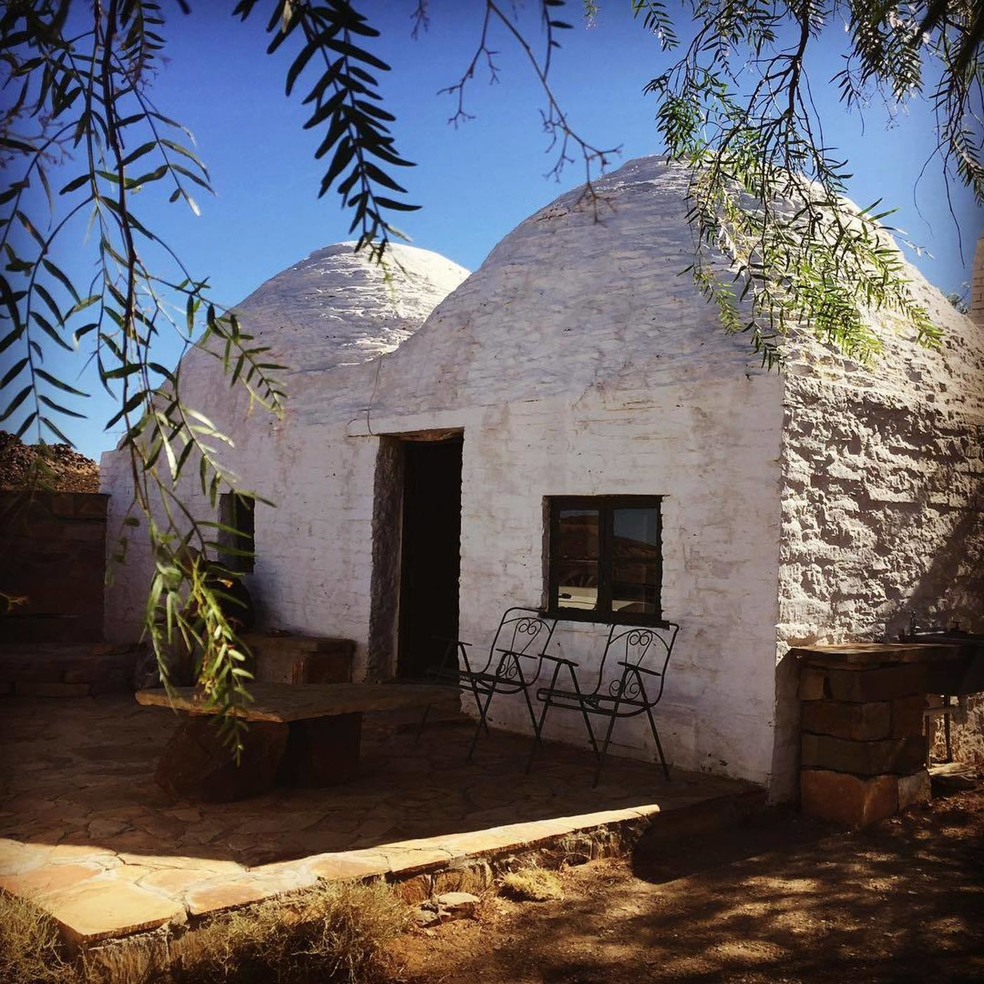 Corbelled House Karoo Instagram @sandracumming