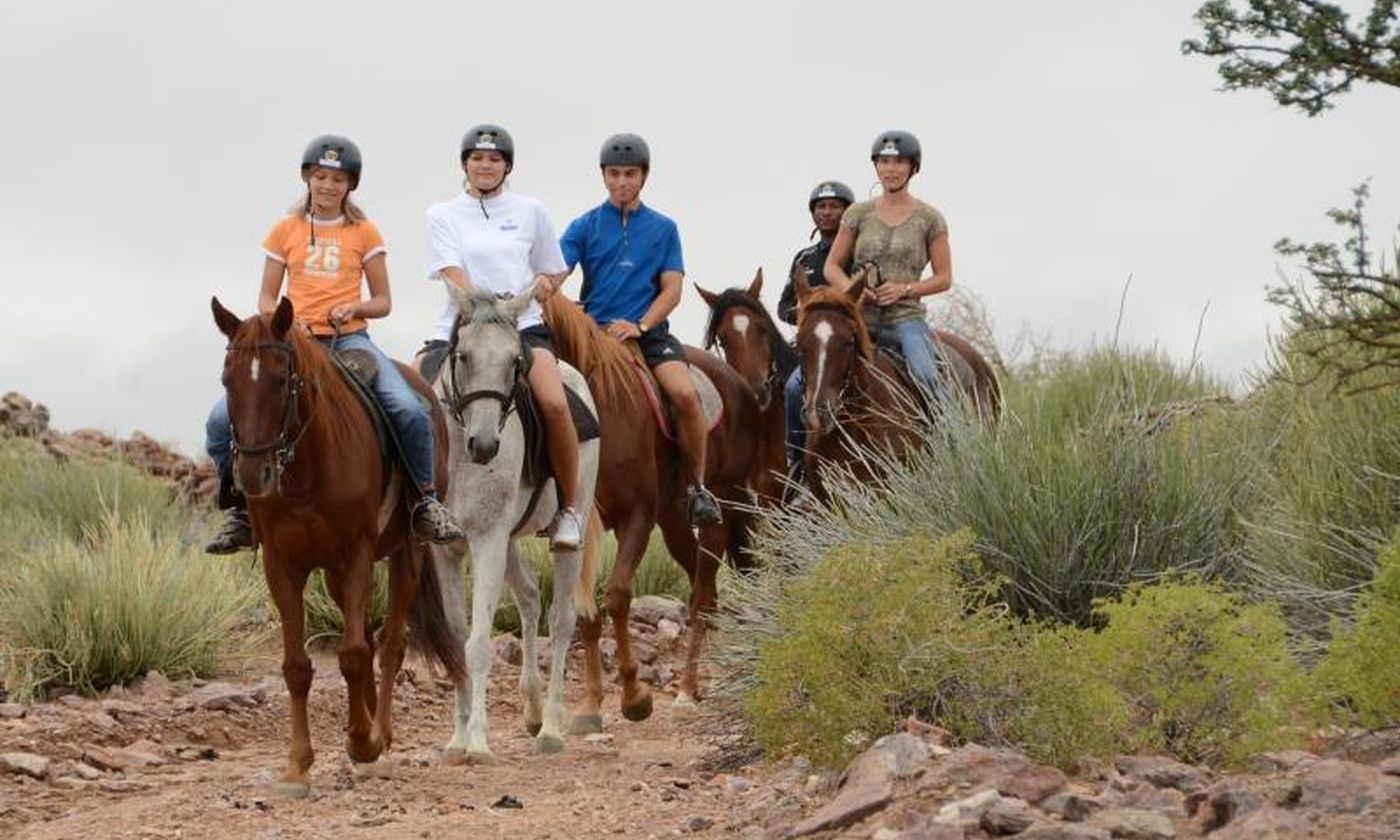 30 Horse Riding Green Kalahari