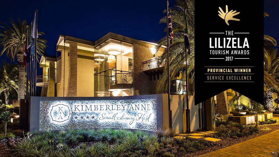 The Kimberley Anne Small Luxury Hotel – one of the proud winners in the Accommodation category.