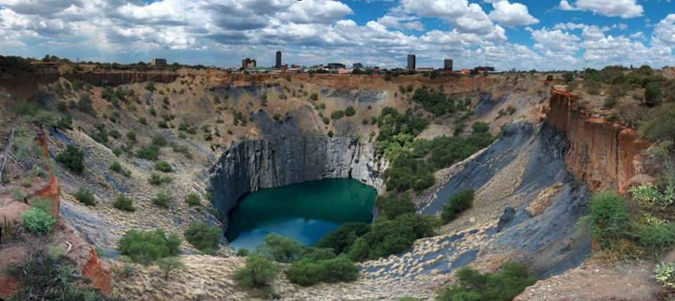 The famous Big Hole in Kimberley.