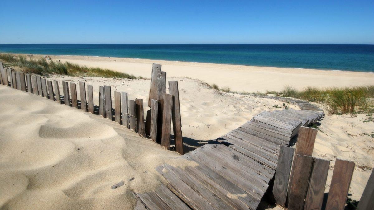 The beautiful beach views at Kleinzee