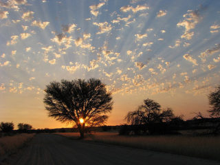 Kgalagadi Sunset - Flickr