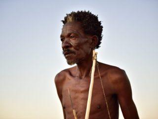 N Cape Kalahari People  Khomani San Crafts  Elia Fester  Red Dune Route6138