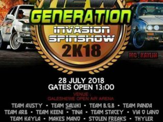 New Generation Invasion Spin Show