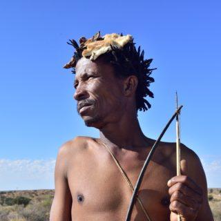 Kalahari  Khomani San Bushman  Arri Raats  Boesmansrus Camp