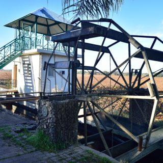 N Cape  Irrigation  Water Wheel Keimoes