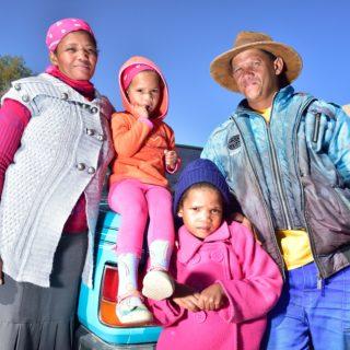 N Cape  Kalahari  Peole  Faces  Local Family