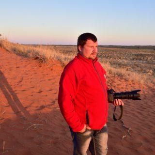 N Cape  Kalahari Red Dune Route  Kalahari Trails  Jaco