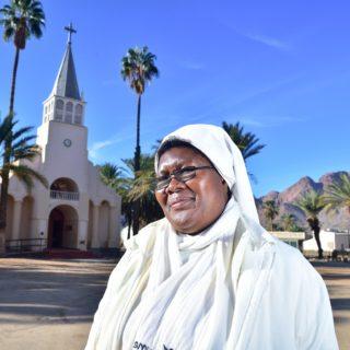 N Cape  Pella  Cathedral  Nun
