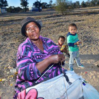 Kalahari People  Khomani San Crafts Andriesvale